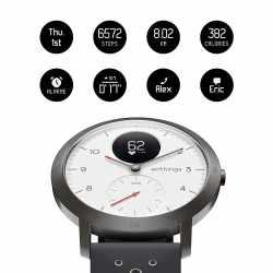 Withings Steel HR Sport  Multi-Sport Hybrid Smartwatch...