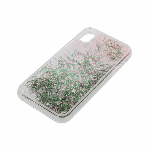 LAUT Liquid Glitter Confetti Pastel M Schutzhülle Apple iPhone XS Backcover - neu