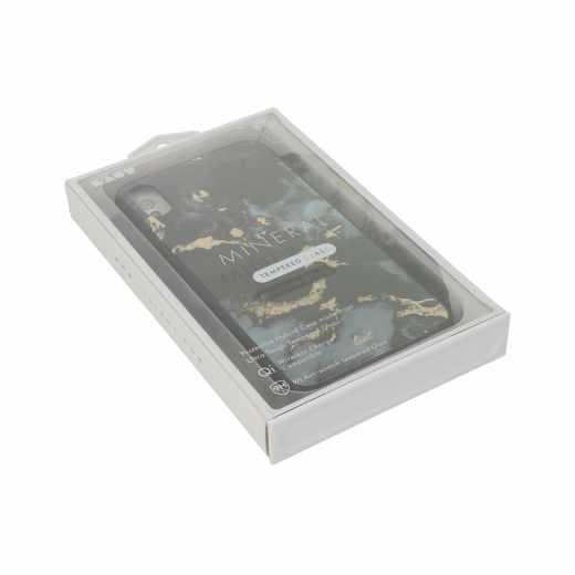 LAUT Mineral Glass L Schutzhülle für Apple iPhone Xs Max Case schwarz