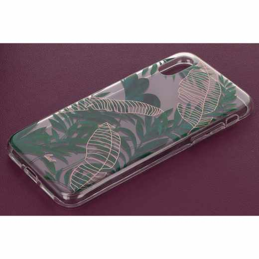 LAUT Pop Tropics Apple iPhone X Schutzhülle Anti-Scratch Backcover grün - neu
