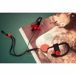 Beats by Dr. Dre Powerbeats3 Wireless In-Ear Kopfhörer Bluetooth schwarz rot - neu