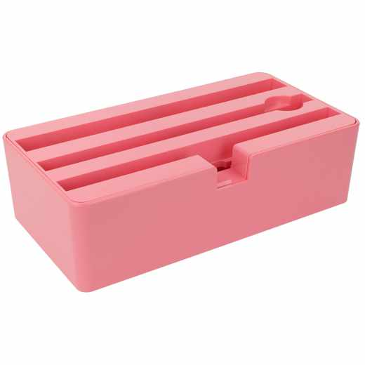 AllDock Ladestation D-Dock 4fach Universal+U Micro-USB pink - neu