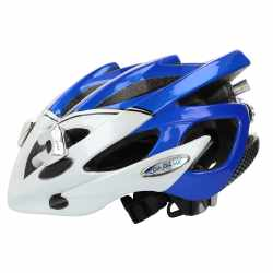 Roadluxhelm Gr.M (54-58cm) Fahrradhelm LED-Leuchten Helm...