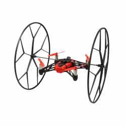 Parrot Minidrones Rolling Spider Deckenflieger per Smartphone Bluetooth rot- sehr gut