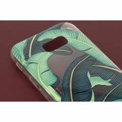 FLAVR iPlate Handy Schutz Hülle Banana Leaves BackCover für Samsung Galaxy A5 (2017) Mehrfarbig- neu