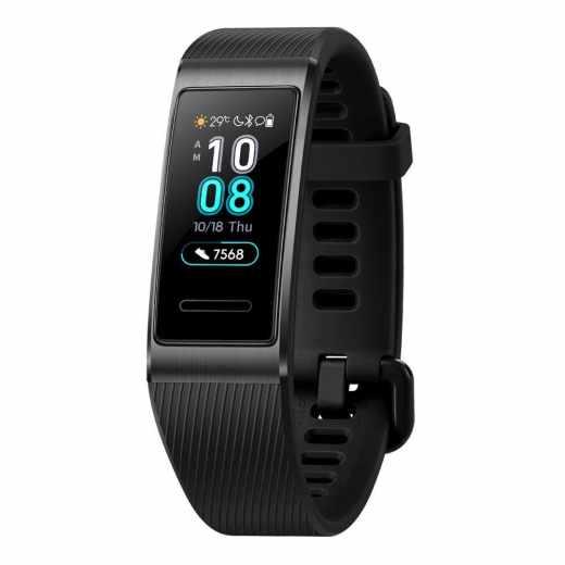 Huawei Band 3 Pro Fitness Aktivitätstracker Multisportuhr AMOLED schwarz - sehr gut