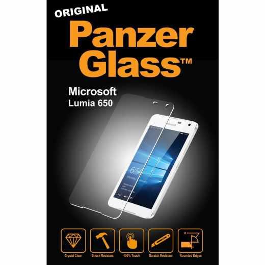 Panzer Glass für Microsoft Lumia 650 Displayschutzglas Anti-Fingerprint klar