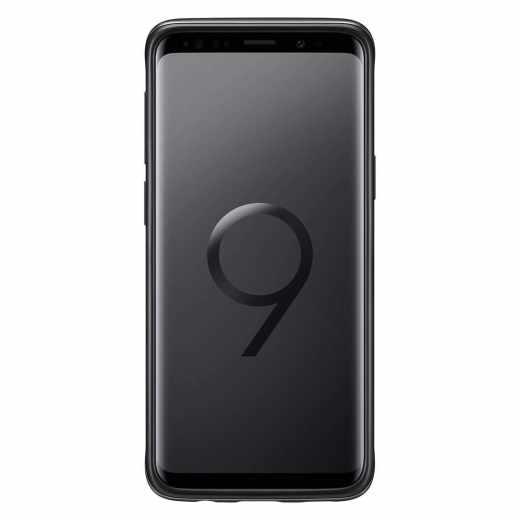 Samsung Protective Stand Schutzhülle Cover für Galaxy S9 Handyhülle schwarz