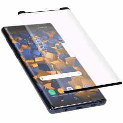 Mumbi Panzerglasfolie 3D kompatibel mit Samsung Note 9 Displayschutz transparent - sehr gut