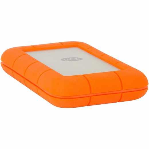 Lacie Rugged Thunderbolt Externe Tragbare Festplatte USB-C 4 TB orange - sehr gut
