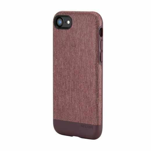 Incase Textured Snap Case Schutzhülle für iPhone 7 TPU-Bumper rot - neu