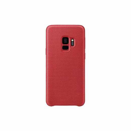 Samsung Hyperknit Cover Schutzhülle für Samsung Galaxy S9 Handyhülle rot