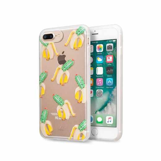 LAUT Pop Ink CactiSplit Schutzhülle für iPhone 7 Kaktus Banane transparent - neu