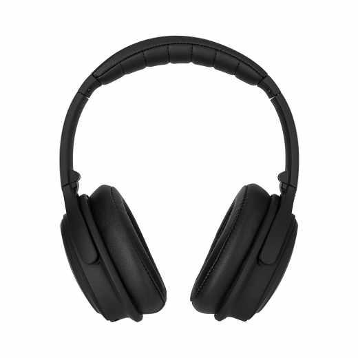 XQISIT ANC oE400 Bluetooth Stereo OnEar Kopfhörer Wireless Headphone schwarz