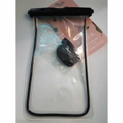 FLAVR Waterproof Tasche Handytasche Universal Unterwasserhülle schwarz - neu