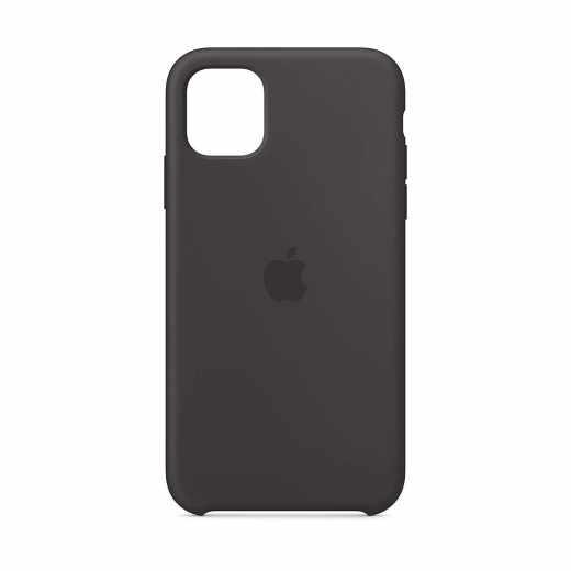 Apple Schutzhülle für iPhone 11 Silikon Case Handyhülle schwarz