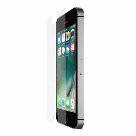 Belkin InvisiGlass Ultra Displayschutzfolie für iPhone SE klar - neu