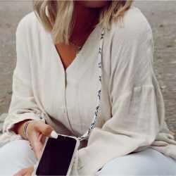 LOOKABE Necklace Case Tasche für iPhone XR Handykette mit Handyhülle snake - neu