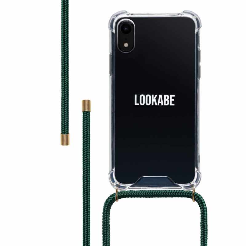 LOOKABE Necklace Case, Handykette für iPhone X/XS, nude
