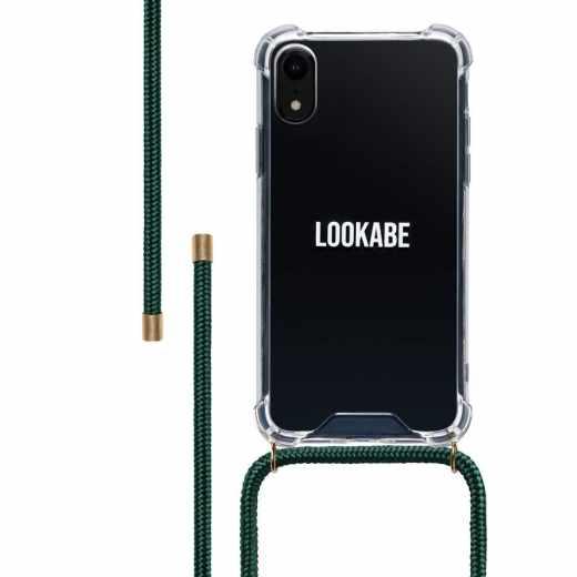 LOOKABE Necklace Case Tasche für iPhone XR Handykette mit Handyhülle grün - neu