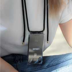 LOOKABE Necklace Case Tasche für iPhone XR Handykette mit Handyhülle schwarz - neu