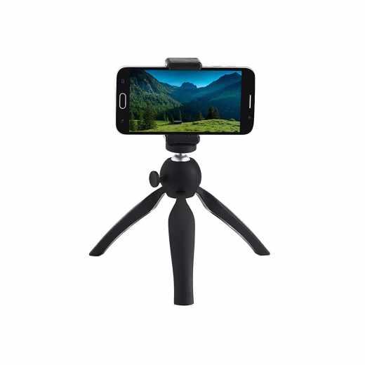 Networx Tripod Fotostativ für Smartphones schwarz