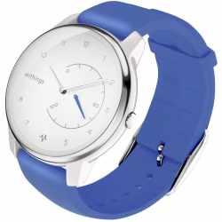 Withings Move ECG Fitnessuhr mit EKG Funktion Activity 38mm blau - sehr gut