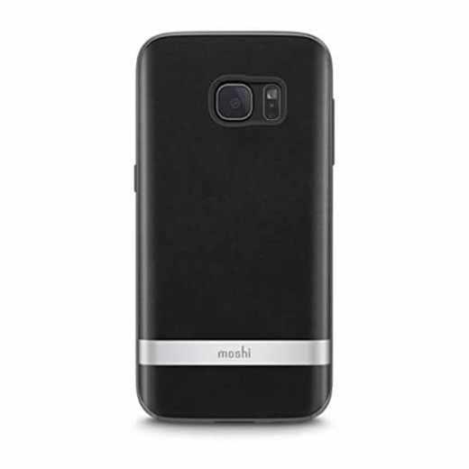 moshi iGlaze Napa Case Schutzhülle für Samsung Galaxy S7 schwarz - neu