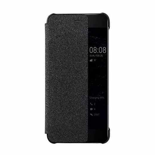 Huawei Smart View Cover Schutzhülle für Huawei P10 Plus dunkelgrau - neu