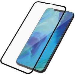 PanzerGlass Handy Schutzglasfolie Case friendly für Apple iPhone XS Max Schwarz neu