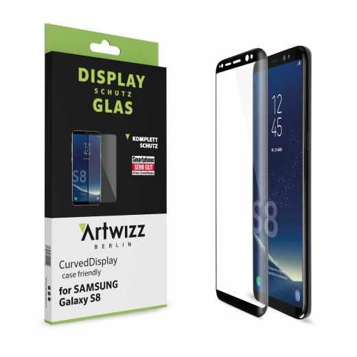Artwizz CurvedDisplay Schutzglas Samsung Galaxy S8 Plus Displayschutz klar