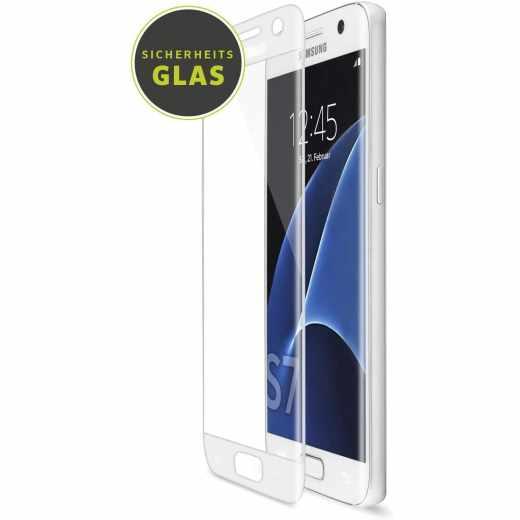 Artwizz CurvedDisplay Schutzfolie für Samsung Galaxy S7 weiß - neu