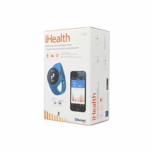 iHealth  Activity SleepTracker Bluetooth Fitness Uhr Schrittzähler blau - sehr gut