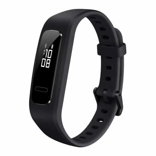 Huawei Band 3e Fitness Armband Tracker schwarz - sehr gut