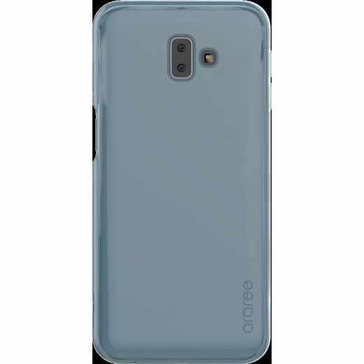 Samsung Cover Schutzhülle für Galaxy J6+ Handyhülle blau