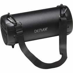 Denver BTS-53 Speaker Bluetooth Lautsprecher USB schwarz - sehr gut