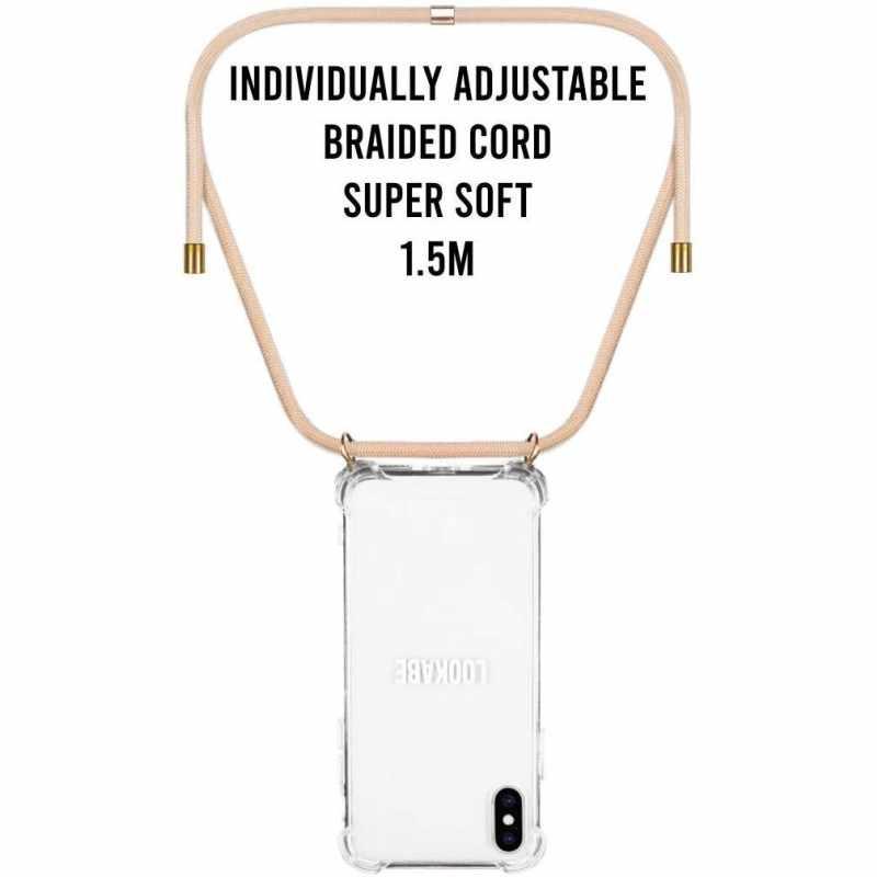 LOOKABE Necklace Case Handykette für iPhone Xr Handykette