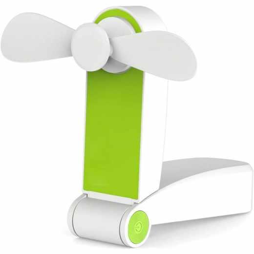 Networx Mini USB Ventilator grün weiß - neu