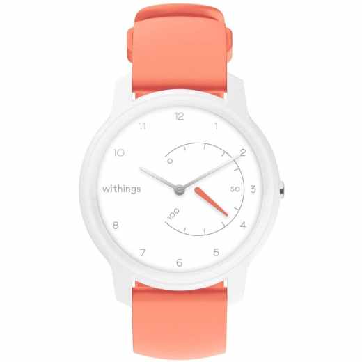 Withings Move Smartwatch Armbanduhr Tracker weiß coral - neu