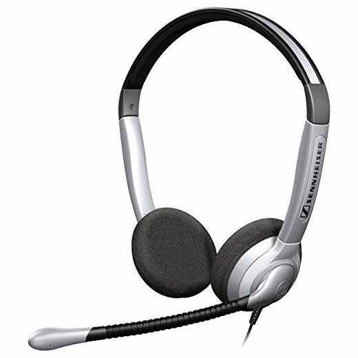 Sennheiser SH 350 Headset OnEar Kopfhörer Internet Telefonie - neu