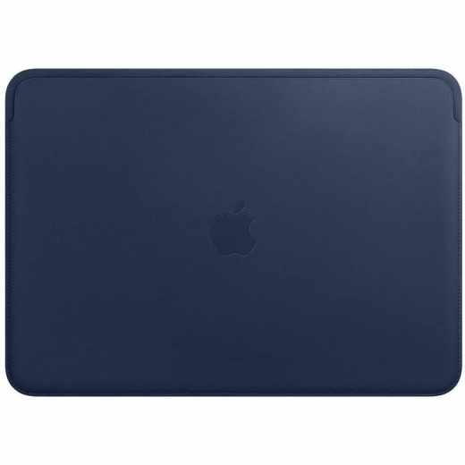 Apple Leather Sleeve für MacBook Pro 13 Zoll mitternachtsblau - sehr gut