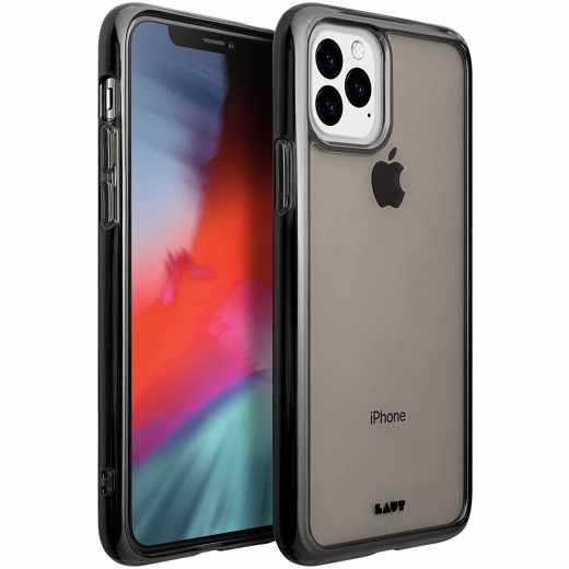 LAUT Crystal-X Schutzhülle für iPhone 11 Pro Handyhülle Case schwarz - neu