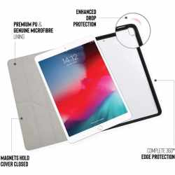 Pipetto Origami Schutzhülle 10.5 Zoll Case für iPad Air 2019 schwarz - neu