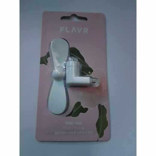 FLAVR Mini Fan Ventilator Micro USB weiß - neu