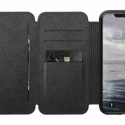 Nomad Tri-Fold Folio L Schutzhülle für iPhone XS Max Handyhülle braun - neu