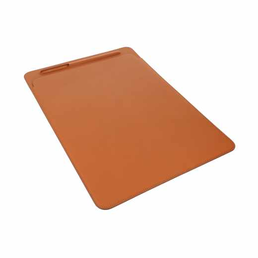 Apple Leather Sleeve iPad Pro 12,9Zoll Lederhülle Eingabestifthalter braun - wie neu