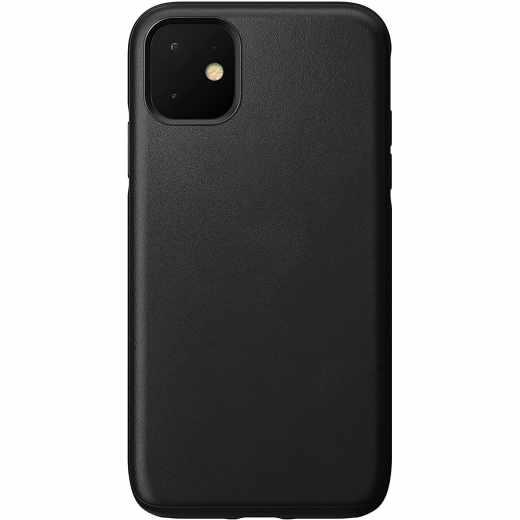Nomad Rugged Leather Case Schutzhülle für iPhone 11 schwarz - sehr gut