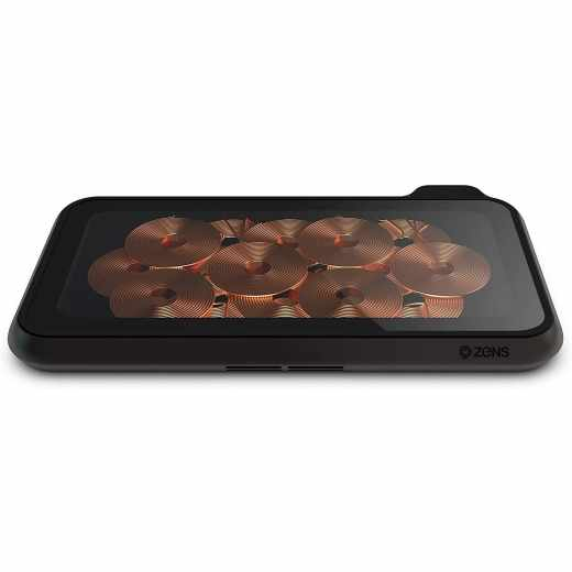 Zens Liberty Glass Edition Dual Charger 15W Qi-Ladestation schwarz - wie neu