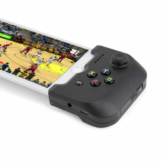 Gamevice Controller GV157 Apple iPhone Joystick Lightning Controller schwarz - wie neu