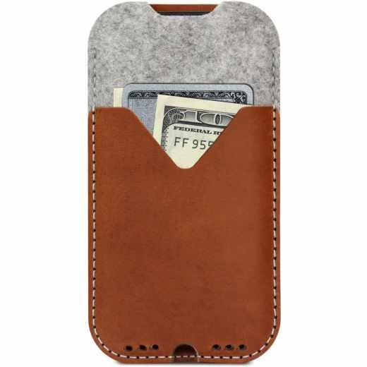Pack&Smooch Tasche Schutzhülle für iPhone braun - neu